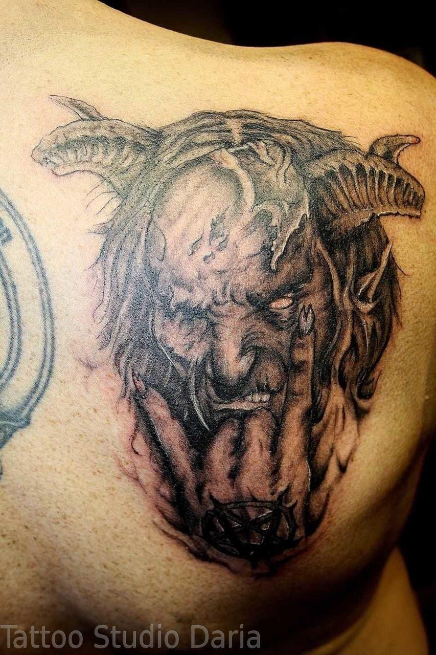 Дьявол татуировки фото и их значение