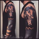 Blackwork-Tattoo-Sleeve-by-Alx-Bizar
